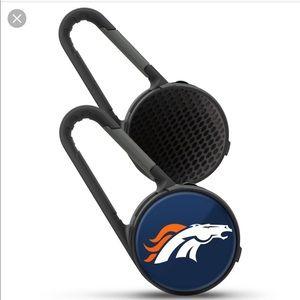 🙀 Denver Broncos Carabiner Speaker New